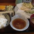 【天ぷら:つづみ】 (夏やさい天ぷら定食)