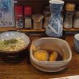 【天ぷら:つづみ】 (天ぷらセット/お通し)
