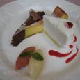【フレンチ:オテル・ドゥ・キタオカ】 6.(Desserts)