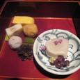 【懐石/会席料理:季】 1.(旬の盛り合わせ・お造り)