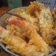【天ぷら:つづみ】 (魚天丼+銀宝)