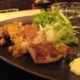 【創作小皿料理:銀漢亭】 (バジル鶏)