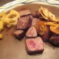 【鉄板焼:モンシェルトントン】 (サーロインステーキ&焼き野菜)2