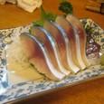 【田舎料理:佐渡】 (自家製シメサバ)