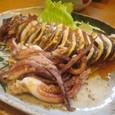 【田舎料理:佐渡】 (いかの ''びっしょ焼き'')