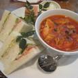 【洋菓子店:田村町キムラヤ本店】 (サンドイッチとデリカのセット)