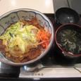 【和菓子屋/甘味処:三原堂 (西池袋)】 (すき焼き丼)